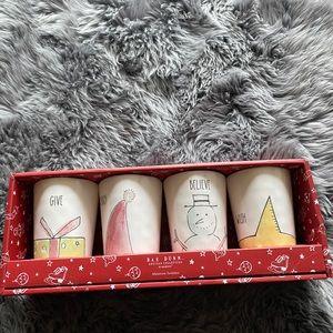 Rae Dunn Christmas Tumbler Set